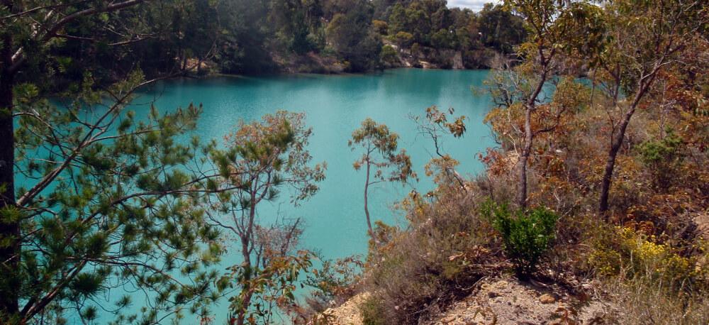 Pit lake